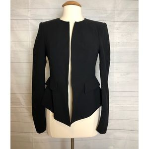 Zara Woman black blazer Long sleeves Size medium